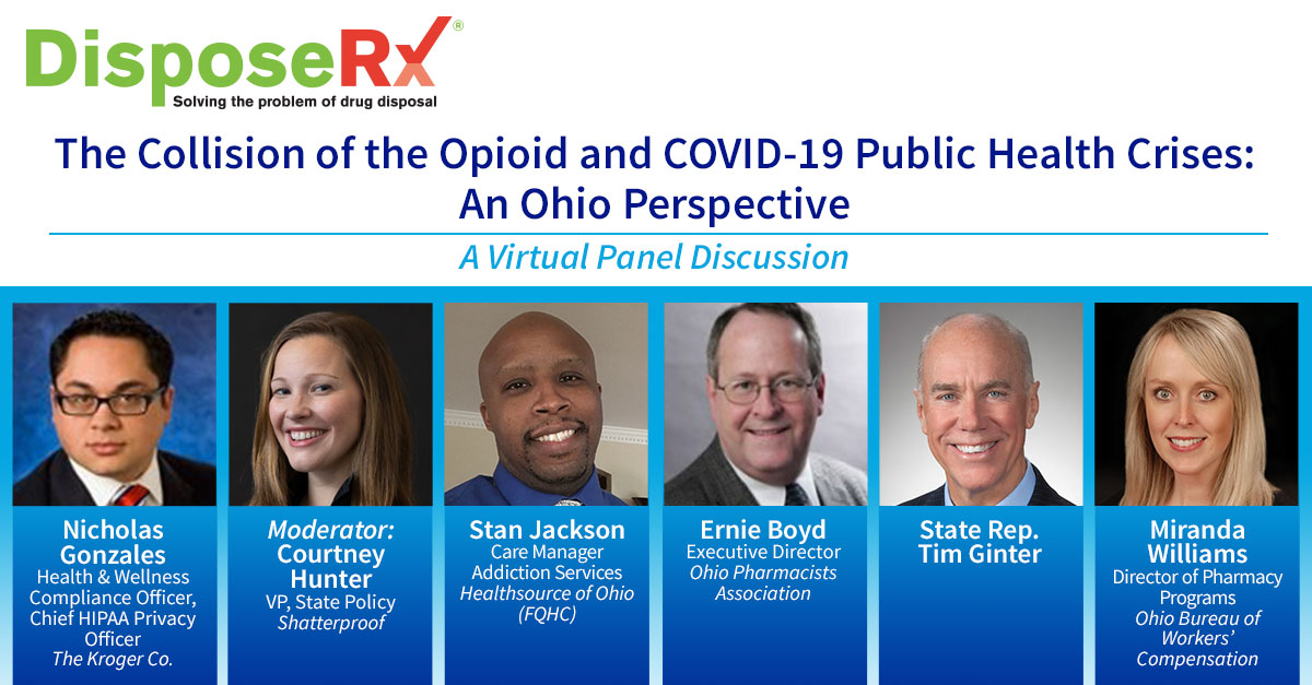 DisposeRx Kicks Off Webinar Series on Collision of the Opioid Epidemic and COVID-19 Pandemic