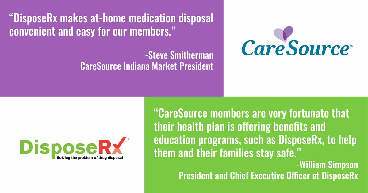CareSource Indiana Provides Members At-Home Opioid Drug Disposal Solution